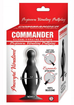 Commander Beginners Vibrating Buttplug