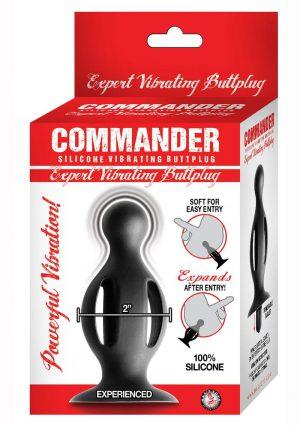 Commander Expert Vibrating Buttplug