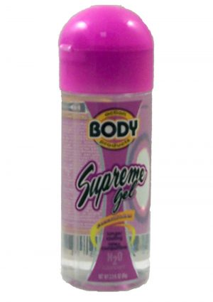 Body Action Supreme Gel Water Based Lubricant 2.3 Ounce