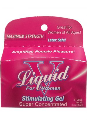 Liquid V Stimulating Gel For Women 3 Pack