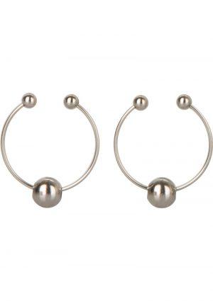 Nipple Rings Non Peircing Silver