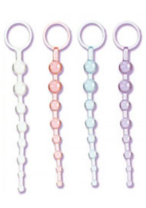 Shanes 101 Intro Anal Beads 7.5 Inch Clear