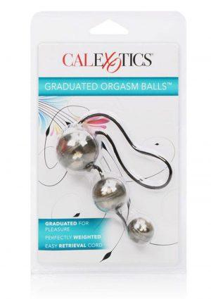 Laceys Graduated Orgasm Balls Silver