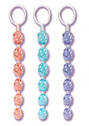 Swirl Pleasure Beads Crystalessence Material 8 Inch Blue