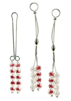Nipple and Clitoral Non Piercing Body Jewelry Ruby