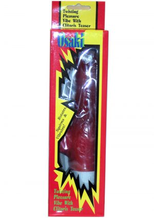 Osaki Vibrator Rabbit Red