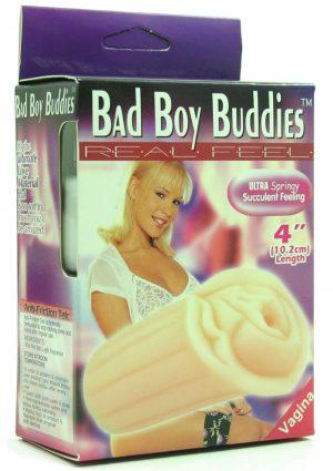 BAD BOY BUDDIES REAL FEEL VAGINA 4 INCH FLESH