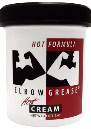 Elbow Grease Hot Cream Lubricant 4 Ounce