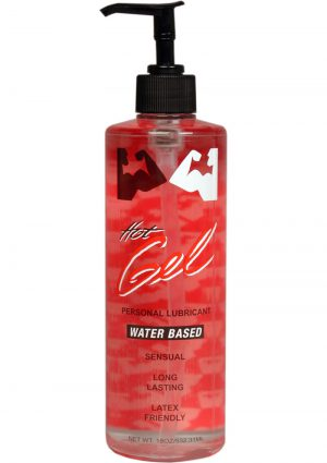 Elbow Grease H2O Hot Gel Lubricant Water Based 16 Ounce