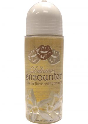 Delicious Encounter Flavored Water Based Lubricant 5.25 Ounce Vanilla