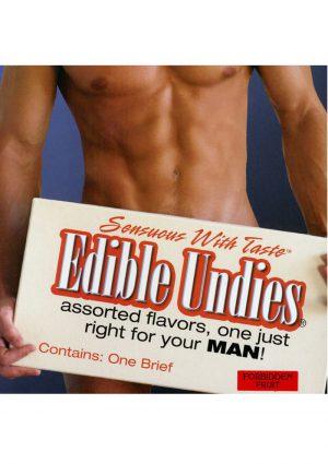 Sensuous With Taste Edible Undies Male Forbidden Fruit