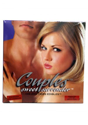 Couples Sweet Surrender His And Hers Edible 2 Piece Strawberry Champagne