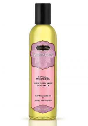 Aromatic Massage Oil Pleasure Garden 8 Ounce