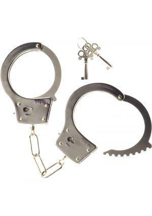 Kinx Heay Metal Handcuffs Silver