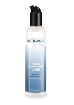Bottoms Up Anal Comfort Water Based Desensitizing Lube 6.3oz