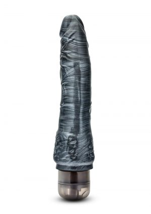 Jet – Obsidian – Carbon Metallic Black Dildo Vibrating