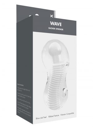 Linx Wave Sucker Stroker Waterproof Clear