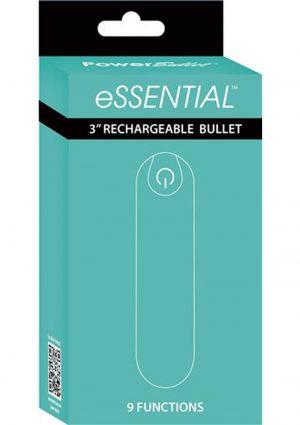 Essential Power Bullet Rechargeable Waterproof Teal