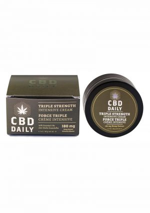 Cbd Daily Triple Strength Intens Cream