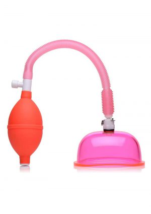 Size Matters Vaginal Pump With Large Cup 5 Inch Pink