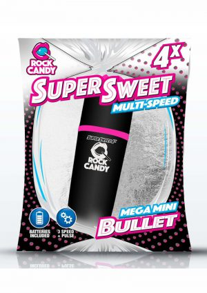 Rock Candy Super Sweet Bullets Black Vibrator