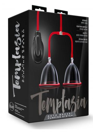 Temptasia Auto Breast Pump Red