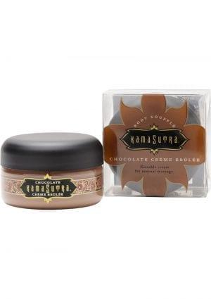 Kama Sutra Petite Body Souffle Kissable Cream For Sensual Massage Chocolate Crème Brulee