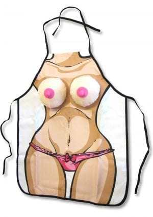 Boobie Apron Novelty Item