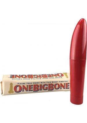 One Big Bone Massager Red 5 Inch
