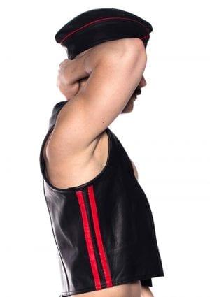 Prowler Red Waistcoat Stripe Blk/red Xl