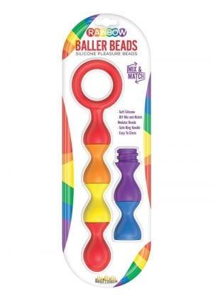 Rainbow Baller Beads