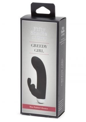 Fifty Shades Of Grey Greedy Girl Mini Rabbit Vibrator Waterproof Rechargeable