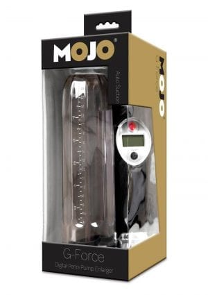 Mojo G Force Digital Penis Pump Enlarger Waterproof
