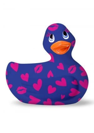 I Rub My Duckie Romance 2.0 Classic Waterproof Vibrating Massager  Blue