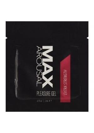 Max Arousal Gel Extr Strength Foil 24bag