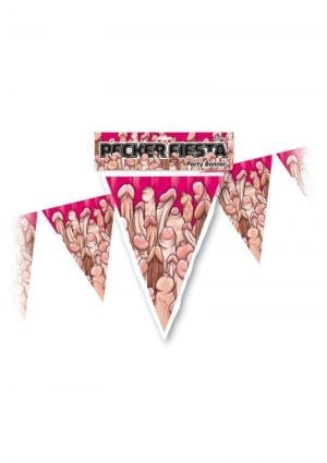 Pecker Fiesta Party Banner Novelty Item