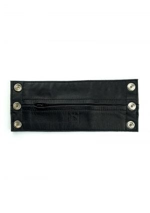 Prowler Red Leather Wrist Wallet Blk Xl