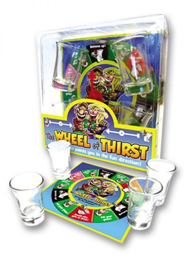 Wheel Of Thirst Drinking Game Novelty