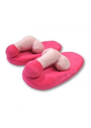 Pecker Slippers Novety Unisex Item