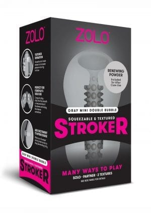 Zolo Mini Stroker Grey