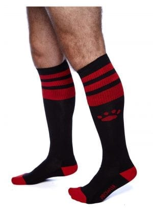 Prowler Red Football Socks Blk/red