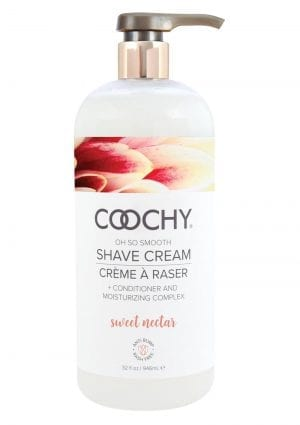 Coochy Shave Cream Sweet Nectar 32 Oz