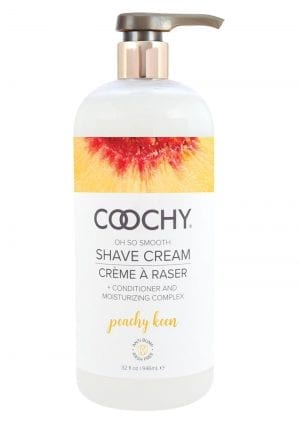 Coochy Shave Cream Peachy Keen 32 Oz