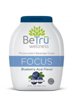 Be Tru Focus Blueberry Acai Shot 2 Oz Beverage Drops