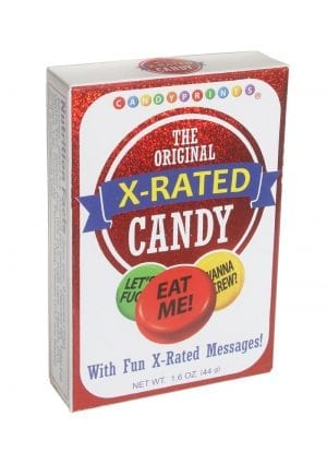Cp X-rated Candy 24/disp