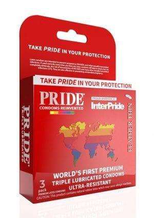 Pride Feather Thin 3pk