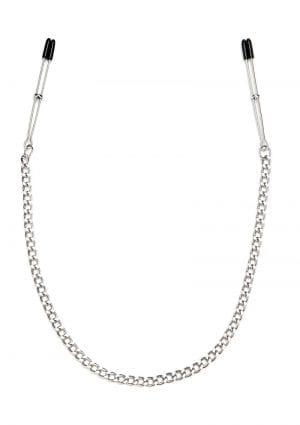 Lux F Adjust Tweezer Nipple Clip W/chain