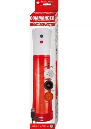 Commander Electric Pump Red