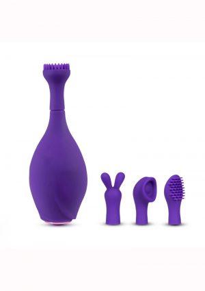 Lush Juna Rechargeable Silicone Vibrator- Purple