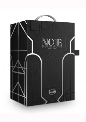 Noir Breathable Ball Gag - Black